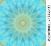 rectangular blue ornament for... | Shutterstock . vector #243311464