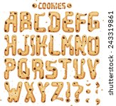Have A Cookie Font. Full Abc...