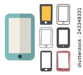 smartphone mobile cellular...