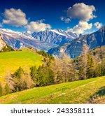 view from the col de la bonette ... | Shutterstock . vector #243358111
