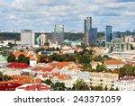 vilnius  lithuania   september... | Shutterstock . vector #243371059