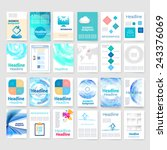 template. flyer  brochure... | Shutterstock .eps vector #243376069