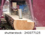 Sawing Boards From Logs With...