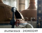 Beer Brewery. Traditional Way...