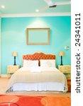 Modern Colorful Bedroom