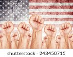 united states of america labor... | Shutterstock . vector #243450715
