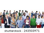 community casual people... | Shutterstock . vector #243503971