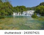 Krka Park Croatia Waterfalls