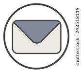 email message envelope online...