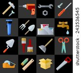 tools and materials for the...