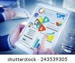 finance financial business... | Shutterstock . vector #243539305