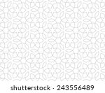 seamless pattern of... | Shutterstock .eps vector #243556489
