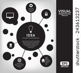 template for visual...   Shutterstock .eps vector #243613237