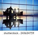 business people discussion... | Shutterstock . vector #243634759