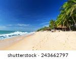 Mui Ne White Sandy Beach ...