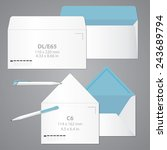 brand identity template....   Shutterstock .eps vector #243689794