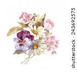 garden budget | Shutterstock . vector #243692575