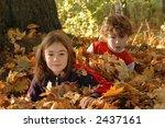 Children Having Fun In A Park