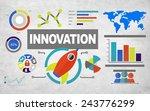 global business inspiration... | Shutterstock . vector #243776299