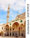 the nizamiye turkish mosque in... | Shutterstock . vector #243793915