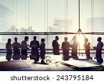 business people conference... | Shutterstock . vector #243795184