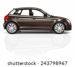 car sedan automobile... | Shutterstock . vector #243798967