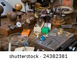 goldsmith tools on the... | Shutterstock . vector #24382381