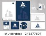 vector icon building ... | Shutterstock .eps vector #243877807