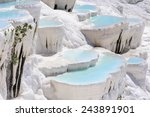 Travertine Pools And Terraces...