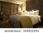 Stock photo hotel room interior 243922594