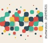 vector background. illustration ... | Shutterstock .eps vector #243950521