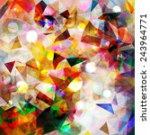 colorful geometric pattern   Shutterstock .eps vector #243964771