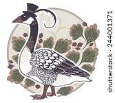 goose | Shutterstock . vector #244001371