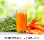 Carrot Juice And Carrot...
