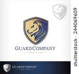 lion vector | Shutterstock .eps vector #244069609
