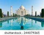 agra  uttar pradesh  india   04 ... | Shutterstock . vector #244079365