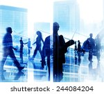 engineer architect professional ... | Shutterstock . vector #244084204