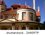 detail of victorian house in... | Shutterstock . vector #2440979