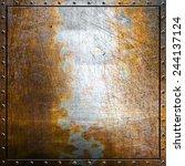 metal background | Shutterstock . vector #244137124
