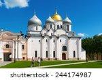 veliky novgorod  russia   june... | Shutterstock . vector #244174987
