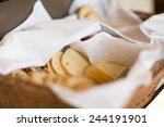 traditional bread on breakfast | Shutterstock . vector #244191901