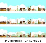 city | Shutterstock .eps vector #244275181
