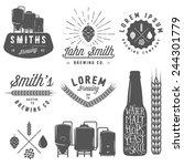 Vintage Craft Beer Brewery...