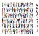 people diversity success... | Shutterstock . vector #244359949