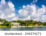 Houses Along Collins Canal In...