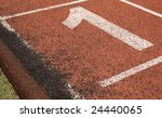 number one track and field   Shutterstock . vector #24440065