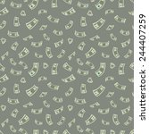 Money Background. Vector...