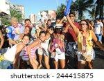 rio de janeiro brazil february... | Shutterstock . vector #244415875