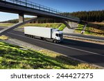 truck on the road | Shutterstock . vector #244427275
