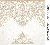 vector vintage border in...   Shutterstock .eps vector #244437304
